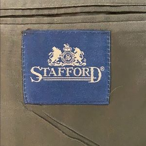 """Stafford Suits & Blazers - Stafford Suit Gray 36"""" pants 24"""" jacket sleeves"""